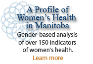 A Profile of Women's Health in Manitoba